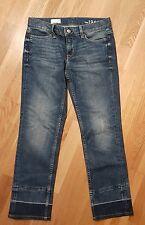 GAP 1969 Blue Jeans Womens ankle grazer Size 8 inner leg L26