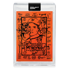 Topps PROJECT 2020 Card 188 - 1952 Willie Mays by Gregory Siff - Presale