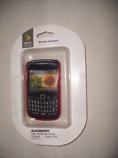 NEW~Technocel High Gloss Snap-On Gel Case for BlackBerry Curve 2/3G Hot pink