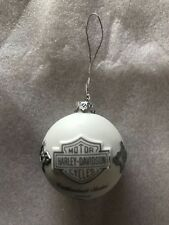 Harley Davidson Enthusiast Chrismas Ornament 2004