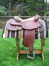 Dorie Reese Pleasure Training Saddle - Quarter Horse Bars - 16""