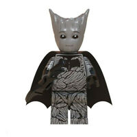 Batman Groot Marvel Superhero Mini Action Figure Toy Endgame Lego Moc