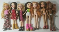 BRATZ DOLLS LOT OF 7 4 DRESSED , 3 NUDE. ALL HAVE SHOES