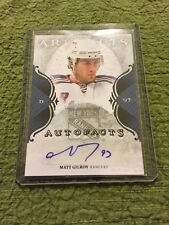 11/12 Artifacts Autofacts Auto Matt Gilroy Hockey Card Mint #A-MG