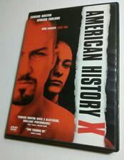 New ListingAmerican History X [Dvd] near mint + 1998 movie Edward Norton, Furlong Tony Kaye