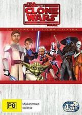 Star Wars THE CLONE WARS Animated : SEASON 2 : NEW DVD