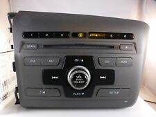 2012 Honda Civic Radio CD Player OEM 39100-TRO-A315-M1