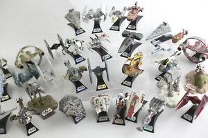 CHOOSE YOUR OWN LOT ~ Star Wars Die Cast Vehicles - TITANIUM Black Series Micro
