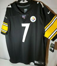 Nike NFL Pittsburgh Steelers Ben Roethlisberger Stitched Jersey XXL, on field