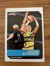 Breanna Stewart Signed Basketball Card