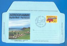 NORFOLK ISLAND.PRE STAMPED AEROGRAMME.FIRST DAY OF ISSUE 2/11/82