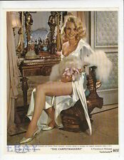 Carroll Baker busty leggy Vintage Color Lithograph The Carpetbaggers