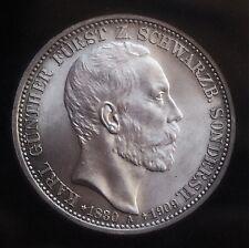 3 Mark Schwarzburg - Sondershausen 1909  Jg 170 * Kabinettstück * FSS 1