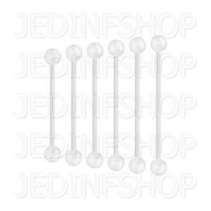 Retainer Hider - Industrial Bar | 1.6mm (14g) - 30mm | BioFlex - Ball Spikes