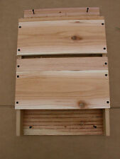 BAT HOUSE 3 CHAMBERS TRIPLE CELLED .....FREE SHIPPING