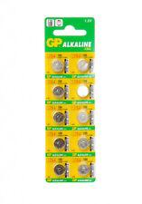 GP BATTERY CELL LR41 LR43 LR44 LR54 LR60 164 ALKALINE WATCHES CALCULATORS