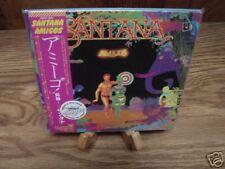 SANTANA AMIGOS JAPAN Sealed Replica TO ORIGINAL LP RELEASE in a RARE OBI CD