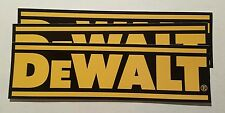 3 DeWalt tool stickers USA Bumper Window Tool Box Decal Truck laptop