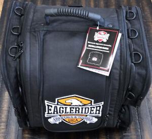 EaglePack Tactical Sissy Bar Bag Motorcycle Back Rest or Backseat Luggage NEW