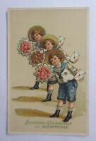 """""""Geburtstag, Kinder, Blumen, Matrose, Mode"""" 1910 ♥"""