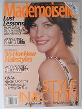 LIV TYLER August 1999 MADEMOISELLE Magazine