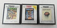 Atari 7800 Fight Night, Summer Games, Super Huey 1985