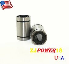 12pcs LM8UU 8mm Linear Bush Ball Bearing Bushing For Reprap Prusa 3D Printer USA