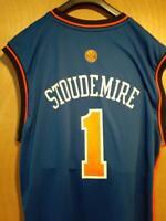 NY Knicks Amari Stoudimire #1 Addidas NBA Basketball Jersey Men's XL 100% Nylon