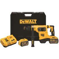 """DEWALT DCH481X2 FLEXVOLT 60V MAX 1-9/16"""" SDS Max Combination Hammer Kit"""