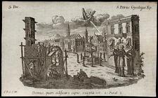 santino incisione1700 S.PIER CRISOLOGO V. DI RAVENNA  klauber