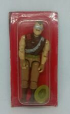 Complete Vintage 1988 Hasbro GI Joe Cobra Warthog Driver Sgt Slaughter Filecard