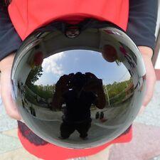 AAAAA+++++ Natural Black Obsidian Sphere Large Crystal Ball Healing Stone
