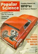 1969 Popular Science Magazine: UFOs/ Radial Engine In Pontiacs Mini-Car