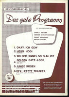 """ Das gute Programm "" Heft 28 - Künstlerexemplar"