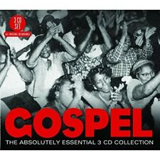 GOSPEL - THE ABSOLUTELY ESSENTIAL - ARETHA FRANKLIN, ROSETTA THARPE 3 CD NEUF
