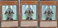 YUGIOH  3 X MASTER WITH EYES OF BLUE  - LCKC-EN014 LEGENDARY COLLECTION KAIBA