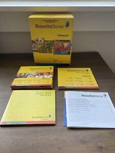 Rosetta Stone V4 TOTALe: French Level 1-5 Set for PC, Mac - No Headphones