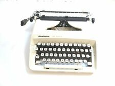 VINTAGE REMINGTON TEN FORTY TYPEWRITER IN OFF WHITE / CREAM COLOR ~ WORKS