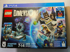 LEGO Dimensions 71171 PS4 Starter Pack New In opened box.no super girl.