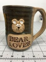 Bear Lover 3-D CAR Pottery Coffee Tea Cocoa Mug Cup