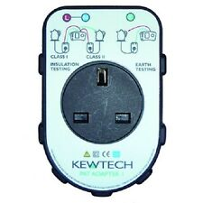 Kewtech PAT Adaptor - For Multifunction / Continuity Testers