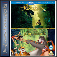 THE JUNGLE BOOK 1 & 2 - 2 MOVIE COLLECTION**BRAND NEW BLURAY BOXSET**