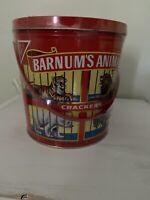 Vintage Nabisco Barnums Animals Crackers Tin 1991 (?) Sealed