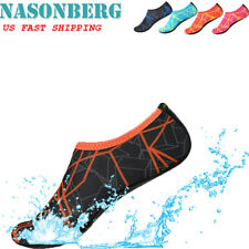 Women Water Shoes Barefoot Aqua Socks Quick-Dry Beach Diving Swim Sports Slip On