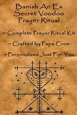 Banish Ex Secret Voodoo Prayer Ritual Kit Curse Old Love Lover Husband Wife Gone