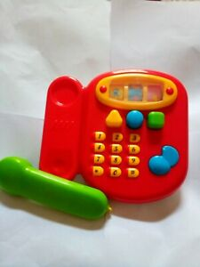 Kids Toy telephone Multi Colour Musical / Sound Educational