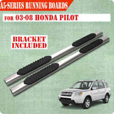 """For 03-08 Honda Pilot/01-06 Acura MDX 5"""" Running Boards Side Step Nerf Bar S/S A"""