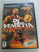 Vintage Sony Playstation PS2 Def Jam Vendetta CIB Complete Manual