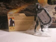 GI JOE RETALIATION COBRA COMMANDER LOOSE COMPLETE