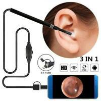 Usb Earpick Mini Camera Endoscope Ear Cleaning Tool Ear 1080P Visual Spoon D8L0